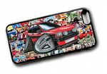 Koolart STICKERBOMB STYLE Design For Retro Mk1 Ford Fiesta XR2 Hard Case Cover Fits Apple iPhone 6 & 6s